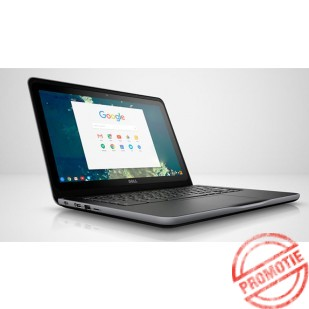 "Laptop DELL,  Chromebook 13 3380, Intel Celeron C3855, 1.6 GHz, HDD: 32 GB, RAM: 4 GB, video: Intel HD Graphics, 13.3"" HD"