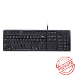 Tastatura Dell KB 212; layout germana, USB, Negru