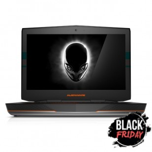 Laptop ALIENWARE, 18,  Intel Core i7-4940MX, 3.10 GHz, HDD: 512 GB, RAM: 32 GB, unitate optica: DVD RW BD, video: nVIDIA GeForce GTX 880M, webcam