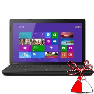 Laptop Toshiba Satellite, PSCN4U, AMD A8-6410, 15.6HD, 4GB, 500GB, DVD-SM, WIFI BGN + BT
