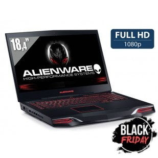 Laptop ALIENWARE, M18XR2,  Intel Core i7-3610QM, 2.30 GHz, HDD: 320 GB, RAM: 8 GB, unitate optica: DVD RW BD, video: nVIDIA GeForce GTX 660M, webcam, BT