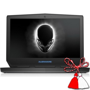 Laptop ALIENWARE, 13 R2, Intel Core i5-6200U, 2.30 GHz, HDD: 128 GB, RAM: 16 GB, video: Intel HD Graphics 520, nVIDIA GeForce GTX 960M, webcam, BT