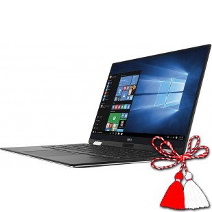 Laptop DELL, XPS 13 9365,  Intel Core i7-7y75, 1.30 GHz, HDD: 512 GB, RAM: 16 GB, video: Intel HD Graphics 615, webcam, BT