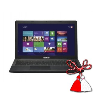 "Laptop ASUS, 90NB0481-M01490, Intel Celeron N2815 1.8GHz, 4GB, 500GB, Intel HD, 15.6"" HD LED, Cam+Mic, DVD-RW, 802.11bgn, Win 8, factory refurbished"