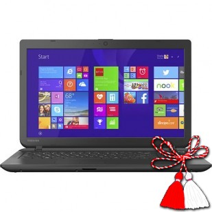 Laptop Toshiba Satellite, C55-B5300B; Intel Celeron n2840 2.16GHZ; 4096 MB RAM; 500 GB HDD; Intel HD Graphics 3000; DVD-RW