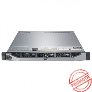DELL PowerEdge R620; Intel Six Core E5-2630,  2.3 GHz; 32 GB RAM DDR3 ECC; controler RAID: H710; dimensiune: 1U; caddy HDD: 8X2.5; 2PSU