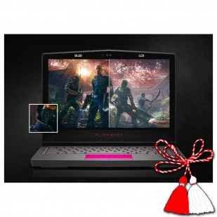 Laptop ALIENWARE, 13 R3, QuadCore , 2.80 GHz, HDD: 256 GB, RAM: 32 GB, video: Intel HD Graphics 630, nVIDIA GeForce GTX 1060, webcam