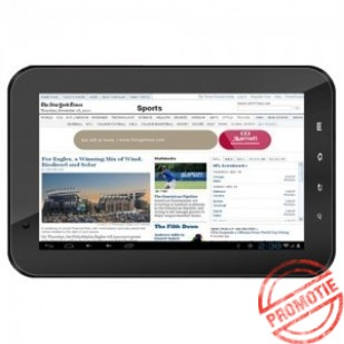"Tableta HORIZON HC700D DUAL CORE CORTEX A9 1.6 GHZ, 7"", IPS, 1 GB DDR2, 4 GB, 3G, GPS, BLUETOOTH, ANDROID 4.0"