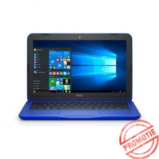 Laptop DELL, INSPIRON 11 - 3162, Intel Celeron N3050, 1.60 GHz, HDD: 32 GB, RAM: 2 GB, video: Intel HD Graphics, webcam