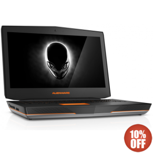 Laptop ALIENWARE, 18,  Intel Core i7-4800MQ, 2.70 GHz, HDD: 750 GB, RAM: 16 GB, unitate optica: DVD RW BD, video: nVIDIA GeForce GTX 780M, webcam, BT