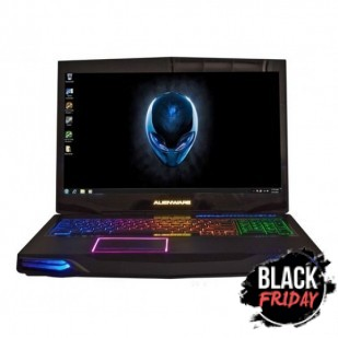 Laptop ALIENWARE, M17XR3,  Intel Core i7-2760QM, 2.40 GHz, HDD: 1000 GB, RAM: 8 GB, unitate optica: DVD RW BD, video: nVIDIA GeForce GTX 580M, webcam, BT