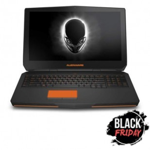 Laptop ALIENWARE, 17, Intel Core i7-4910MQ, 2.90 GHz, HDD: 500 GB, RAM: 8 GB, unitate optica: DVD RW BD, video: nVIDIA GeForce GTX 880M, webcam, BT