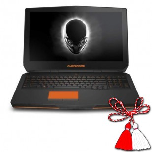 Laptop ALIENWARE, 17, Intel Core i7-4700MQ, 2.40 GHz, HDD: 500 GB, RAM: 8 GB, unitate optica: DVD RW, video: nVIDIA GeForce GTX 860M, webcam