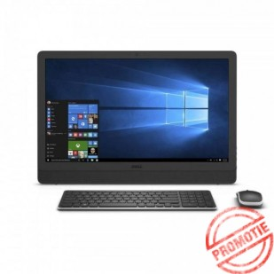 Aio DELL, INSPIRON 3464 AIO,  Intel Core i3-7100U, 2.40 GHz, HDD: 1 TB, RAM: 8 GB, unitate optica: DVD RW, video: Intel HD Graphics 620, webcam