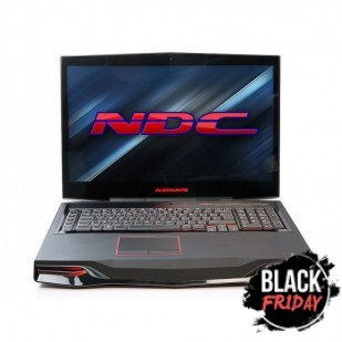 Laptop ALIENWARE, M18XR1, Intel Core i7-2760QM, 2.40 GHz, HDD: 750 GB, RAM: 16 GB, unitate optica: DVD RW, video: nVIDIA GeForce GTX 675M,  webcam,  BT,  18.4 LCD (FHD),  1920 x 1080""