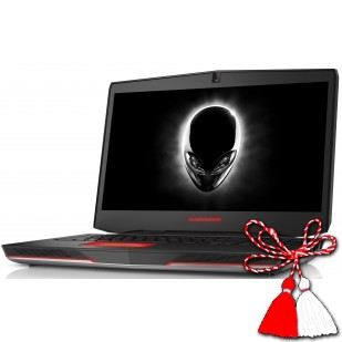 Laptop ALIENWARE, 15, Intel Core i7-4720HQ, 2.60 GHz, HDD: 256 GB, RAM: 16 GB, video: Intel HD Graphics 4600, nVIDIA GeForce GTX 980M, webcam