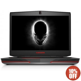 Laptop ALIENWARE, 17,  Intel Core i7-4900MQ, 2.80 GHz, HDD: 750 GB, RAM: 16 GB, unitate optica: DVD RW BD, video: nVIDIA GeForce GTX 780M, webcam, BT