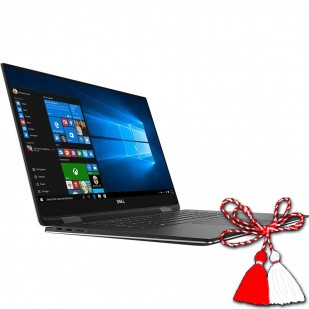 Laptop DELL, XPS 15 9575, Intel Core i7-8706G, 3.10 GHz, HDD: 240 GB, RAM: 16 GB, video: Intel HD Graphics 630, webcam