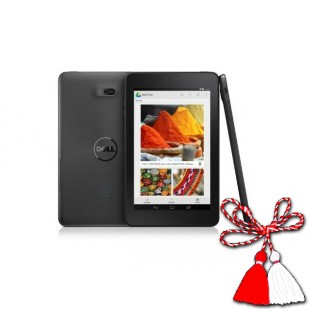 "Tableta DELL VENUE 7 3740LTE,  DUAL CORE 1.6 GHZ, 7"", IPS, 1 GB DDR2, 16 GB, 3G, BLUETOOTH, W-LAN, ANDROID 4.4.4"
