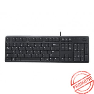 Tastatura DELL KB 212, layout: olandeza, USB, Negru