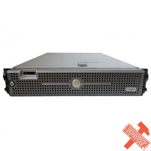 DELL PowerEdge 2950; DualCore Intel Xeon 5160, 3000 MHz; 4 GB RAM; HDD TYPE: SAS; DVD; 6x 3,5 HDD bay