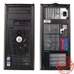 Dell, OPTIPLEX 360,  Intel Core 2 Duo E7500, 2.93 GHz, video: Intel GMA 3100; TOWER