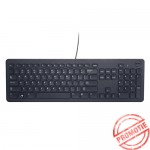 Tastatura Dell KB 113T, layout germana, USB, Negru