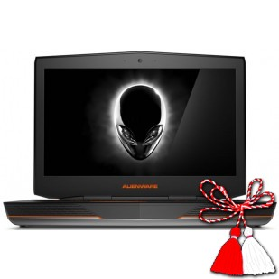 Laptop ALIENWARE, ALIENWARE 18, Intel Core i7-4910MQ, 2.90 GHz, HDD: 1000 GB, RAM: 16 GB, unitate optica: DVD RW BD, video: nVIDIA GeForce GTX 880M,  webcam,  BT