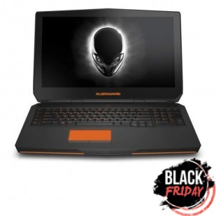 Laptop ALIENWARE, 17, Intel Core i7-4710MQ, 2.50 GHz, HDD: 750 GB, RAM: 8 GB, unitate optica: DVD RW, video: AMD Radeon HD 8970M (Neptune), Intel HD Graphics 4600, webcam, BT, 17.3 LCD (FHD), 1920 x 1080""