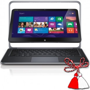 Laptop DELL XPS 12-9Q33; Intel Core i7-4500U, 1800 MHz; 8 GB RAM; 32 GB HDD; Intel HD Graphics;Webcam nefunctional