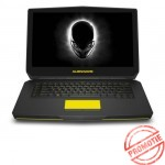 Laptop ALIENWARE, 15R2, Intel Core i5-6300HQ, 2.30 GHz, HDD: 750 GB, RAM: 8 GB, video: Intel HD Graphics 530, nVIDIA GeForce GTX 965M, webcam, BT, 15.6 LCD (QHD+), 3200 x 1800""