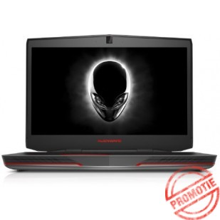 Laptop ALIENWARE, 17 R2, Intel Core i7-4720HQ, 2.60 GHz, HDD: 1000 GB, RAM: 16 GB, video: Intel HD Graphics 4600, nVIDIA GeForce GTX 970M, webcam, 17.3 LCD (FHD), 1920 x 1080""