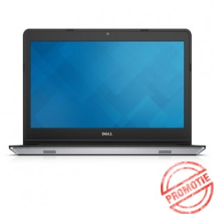 Laptop DELL, INSPIRON 5447, Intel Core i7-4510U, 2.00 GHz, HDD: 750 GB, RAM: 4 GB, video: AMD Radeon R7 M260 (Topaz), Intel HD Graphics 4400, webcam, bluetooth