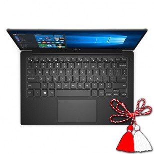 Laptop DELL, XPS 13 9360,  Intel Core i7-7500U, 2.70 GHz, HDD: 128 GB, RAM: 16 GB, video: Intel HD Graphics 620, webcam