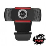 Webcam cu microfon, Full HD, 1080p