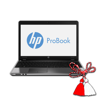 HP ProBook 4545s; AMD A6-4400M, 2700 MHz; 4 GB RAM; 750 GB HDD; AMD Radeon HD 7650M (Thames); DVD-RW, Windows 8