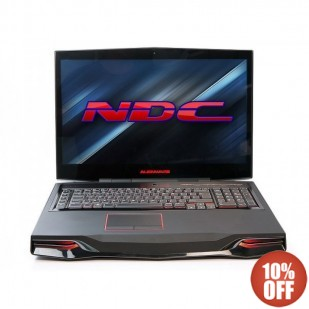 Laptop ALIENWARE, M18XR2,  Intel Core i7-3630QM, 2.40 GHz, HDD: 500 GB, RAM: 16 GB, unitate optica: DVD RW BD, video: AMD Radeon HD 7970M (Wimbledon), webcam, 18.4 LCD (FHD), 1920 x 1080""