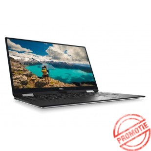 Laptop DELL, XPS 13 9365,  Intel Core i7-7y75, 1.30 GHz, HDD: 256 GB, RAM: 8 GB, video: Intel HD Graphics 615, webcam, BT