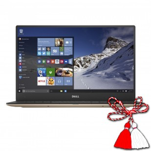 Laptop DELL, XPS 13 9360, Intel Core i7-7560U, 2.40 GHz, HDD: 256 GB, RAM: 8 GB, video: Intel HD Graphics 620, webcam