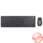 Kit Tastatura + Mouse DELL; model: KM632; layout: UK; NEGRU; USB; WIRELESS; MULTIMEDIA
