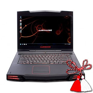 Laptop ALIENWARE, M11XR3,  Intel Core i7-2617M, 1.50 GHz, HDD: 256 GB, RAM: 16 GB, video: Intel HD Graphics 3000, nVIDIA GeForce GT 540M, webcam, BT