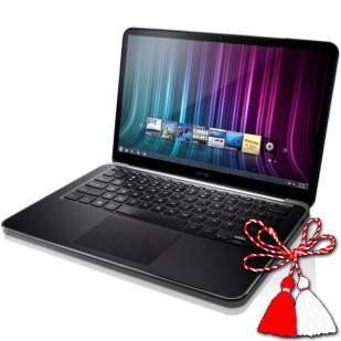 Laptop DELL, XPS13 9333, Intel Core i7-4510U, 2.00 GHz, HDD: 80 GB, RAM: 8 GB, video: Intel HD Graphics 4400,  webcam,  BT