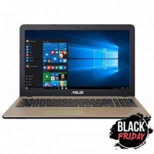Laptop ASUS, X540S, Intel Celeron Dual Core N3060, 2.48 GHz, HDD: 500 GB, RAM: 4 GB, video: Intel HD Graphics, webcam, 15.6 LCD (WXGA), 1366 x 768""