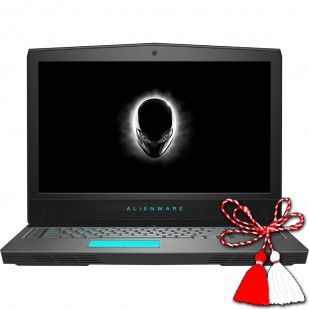 Laptop ALIENWARE, 17 R5, Intel Core i9-8950HK , 2.90 GHz, HDD: 240 GB SSD, 1 TB, RAM: 16 GB, video: Intel HD Graphics 630, nVIDIA GeForce GTX 1080, webcam