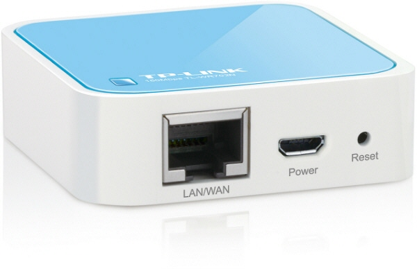 ROUTER cu management, TP-LINK model: NANO ROUTER; WIRELESS; PORTURI: 1 x RJ-45 ; TL-WR702