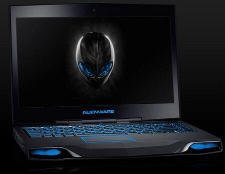 Laptop Alienware, negru