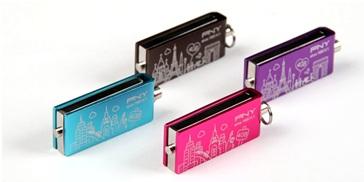 USB Stick PNY, 16GB, Blue