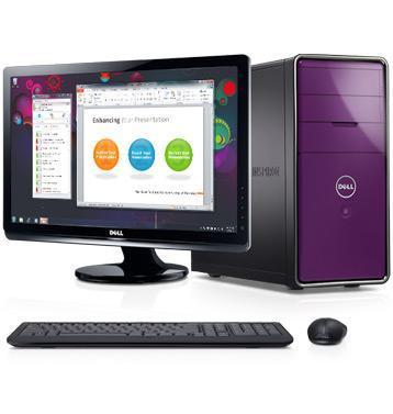inspiron 660, desktop mov, cu monitor